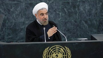 Президент Ирана Хасан Роухани, архивное фото