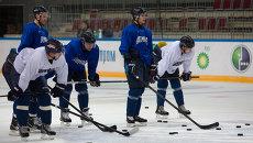 Первая тренировка ХК Адмиралв КСК Фетисов-Арена 24 сентября