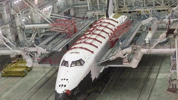 Орбитальный корабль Буран, архивное фото