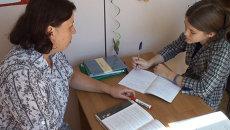Глухие дети в Приморье на уроках постигают науки и учатся говорить