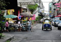 Такси тук-тук на улице Бангкока
