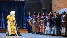 Сцена из балета Петрушка композитора Игоря Стравинского в Мариинском театре. Архивное фото