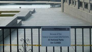 Закрытый мемориал ветеранов Второй мировой в Вашингтоне, фото с места событий