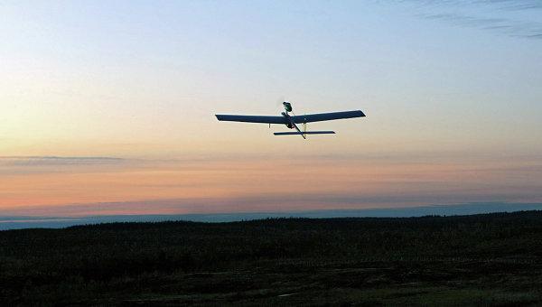Беспилотный летательный аппарат (БПЛА). Архивное фото