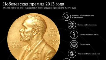 Нобелевская премия 2013 года