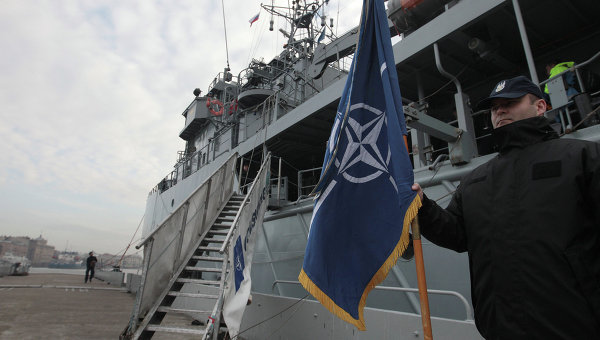 Корабли НАТО. Архивное фото