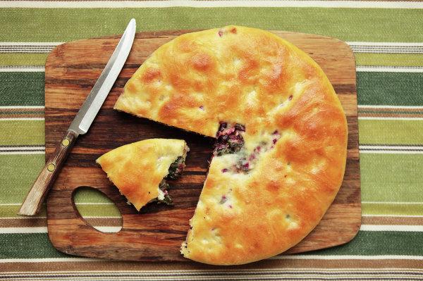 пирог со свеклой рецепт с фото