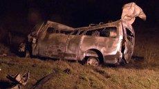 Последствия крупного ДТП под Самарой, где погибли 13 человек