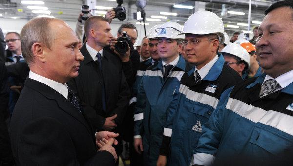Рабочая поездка В.Путина в Уральский федеральный округ