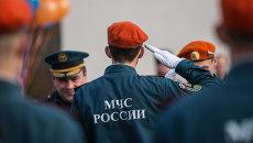 Курсанты МЧС России. Архивное фото