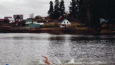 Первый открытый чемпионат Томского района по плаванию в холодной воде