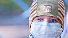 Дети, больные онкологическими заболеваниями. Архивное фото
