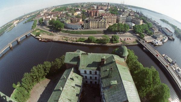 Панорама Выборга. Архивное фото