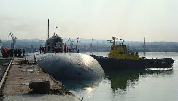 Подводная лодка ТОФ Томск. Архивное фото
