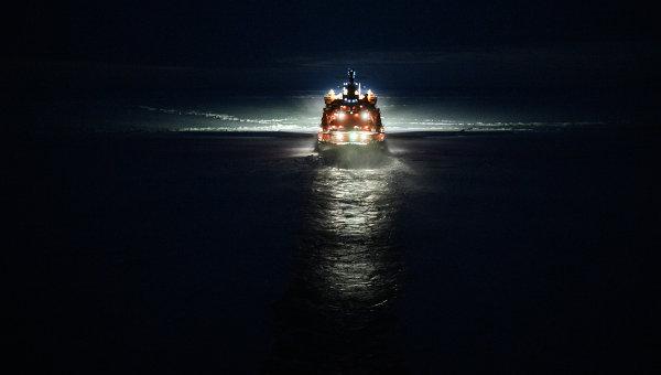 Экспедиция на Северный полюс. Архивное фото