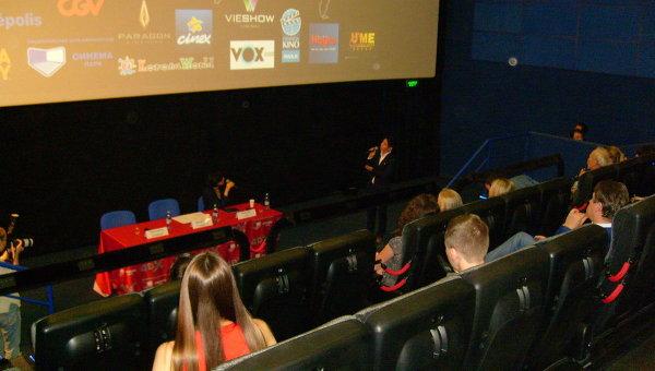 Кинозал 4DX в Новосибирске, архивное фото
