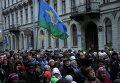 Общегородской крестный ход в честь праздника Казанской иконы Божией Матери и Дня народного единства в Санкт-Петербурге