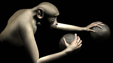 Американские биологи научили обезьян управлять виртуальными конечностями: в ходе эксперимента испытуемые заставляли своего «аватара» класть руки на два круглых объекта, показанных на компьютерном мониторе, используя при этом сначала джойстики, а затем – исключительно силу мысли.