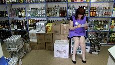 Продажа алкоголя. Архивное фото.