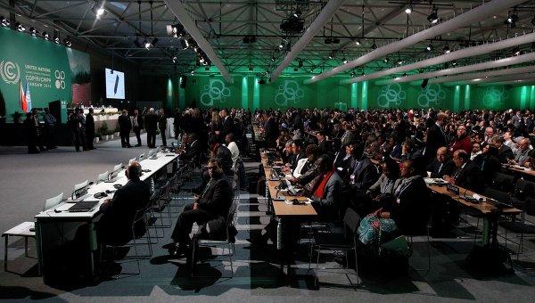 Переговоры ООН в Варшаве по изменению климата, фото с места события
