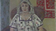 Анри Матисс Сидящая женщина