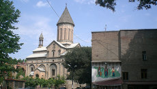 Столица Грузии - город Тбилиси. Архивное фото