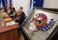 """П/к, посвященная объявлению номинантов Национальной театральной премии """"Золотая Маска"""""""