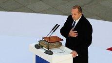 Маргвелашвили  на инаугурации объявил, как будет строить отношения с Россией