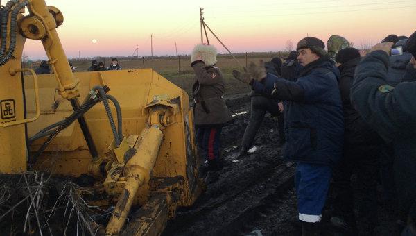 Волнения на никелевом месторождении в Воронеже, архивное фото