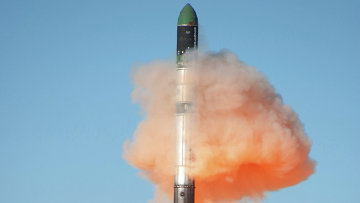 С космодрома запущена ракета-носитель РС-20 Днепр. Архивное фото