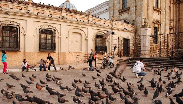 Центральная площадь столицы Гватемалы. Архивное фото