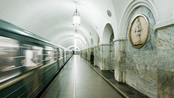 Станция метро Парк культуры (кольцевая). Архив