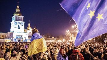 В Киеве продолжаются народные волнения
