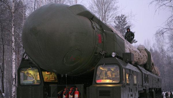 Ракетный комплекс Тополь, архивное фото
