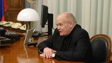 Президент Российского научного центра Курчатовский институт Евгений Велихов, Архивное фото