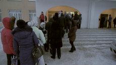 Родители в Самаре ночуют на морозе в очереди за местами в детсад
