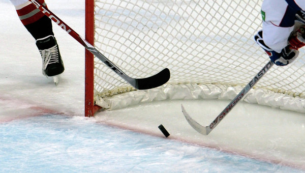 Хоккей. Архивное фото.