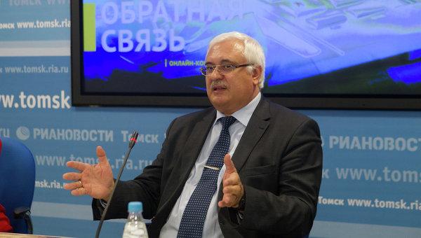 Виктор Власов, ректор Томского государственного архитектурно-строительного университета, событийное фото