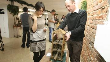Выставка механизмов по чертежам да Винчи открылась в Новосибирске