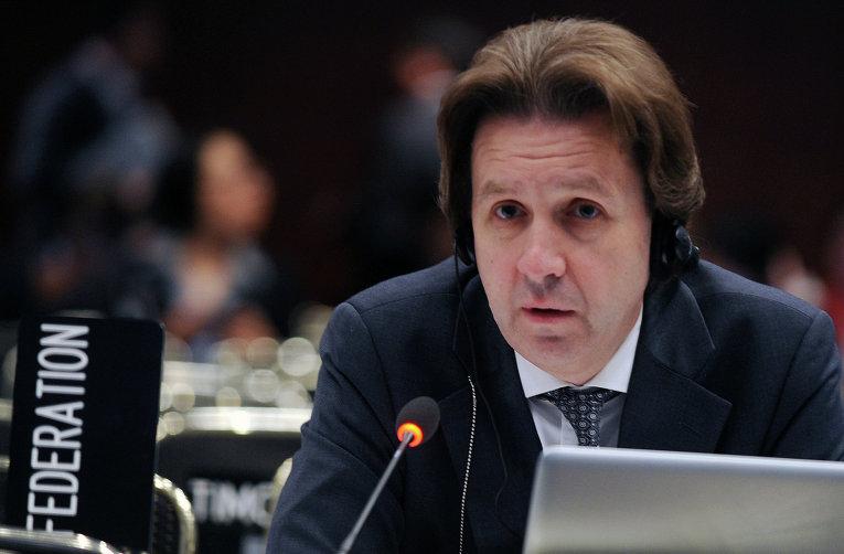 Координатор российской делегации на переговорах в Бонне Олег Шаманов