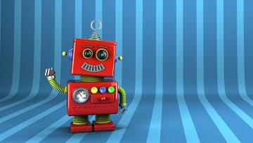 Робот, архивное фото