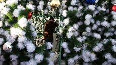 Новогоднее украшение Самары