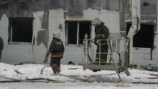 Пожар уничтожил инкубатор томской птицефабрики