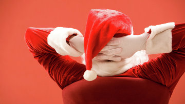 Санта Клаус. Архивное фото