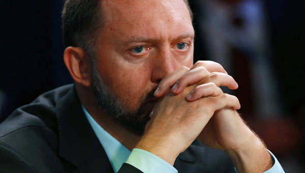 Председатель наблюдательного совета компании Базовый Элемент Олег Дерипаска. Архивное фото