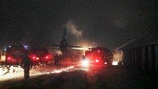 Представитель МЧС рассказал о крушении самолета АН-12 под Иркутском