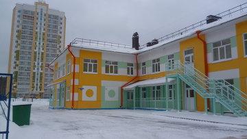 Новый корпус детского сада №83 в микрорайоне Зеленые горки в Томске. Архивное фото