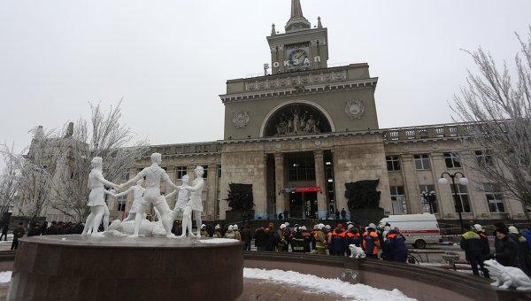 Теракт на железнодорожном вокзале в Волгограде