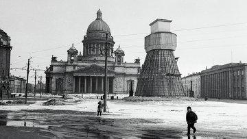 Блокадный Ленинград, архивное фото