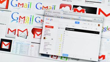 Сайт почтового сервиса Gmail. Архивное фото
